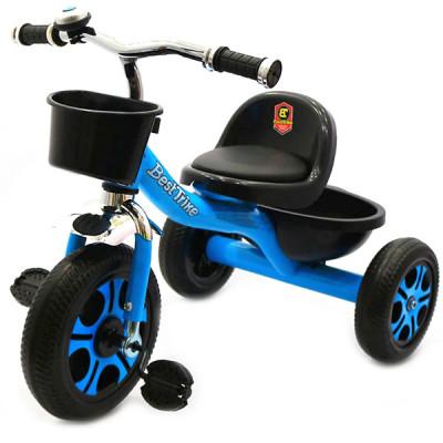 Велосипед трехколесный Best Trike Голубой