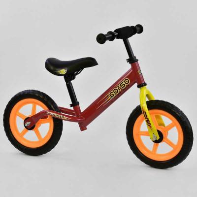 """Велобег CORSO F Красный колесо 12"""" EVA (8044)"""