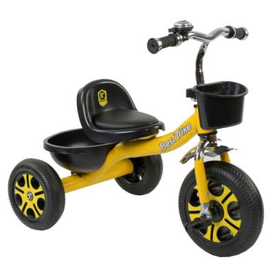 Велосипед трехколесный Best Trike Желтый