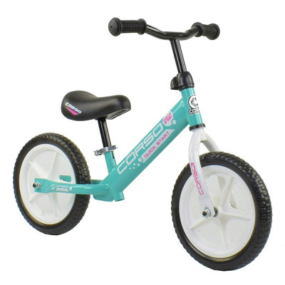 "Беговел - велобег Corso EVA 12"" Бирюзовый"