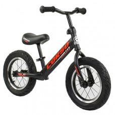 """Беговел - велобег Corso 12"""" (Черный)"""