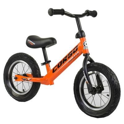 """Беговел - велобег Corso 12"""" Оранжевый"""