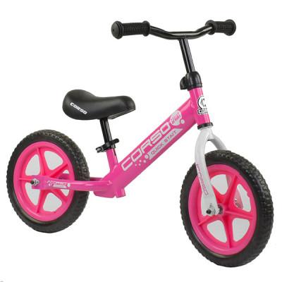 """Беговел - велобег Corso EVA 12"""" Розовый"""