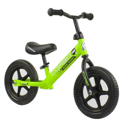 "Беговел - велобег Corso EVA 12"" Зеленый"