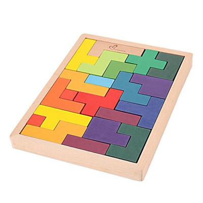 Деревянная головоломка Тетрис (Танграмм)