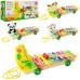 Деревянная игрушка Ксилофон с металлическими пластинами (3057)