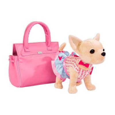 "Собачка Кикки с сумочкой ""Модница"" аналог ChiChi Love (3219)"
