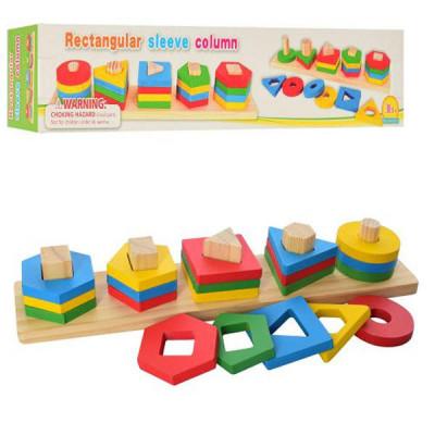 Деревянная игрушка Геометрика MD 2305