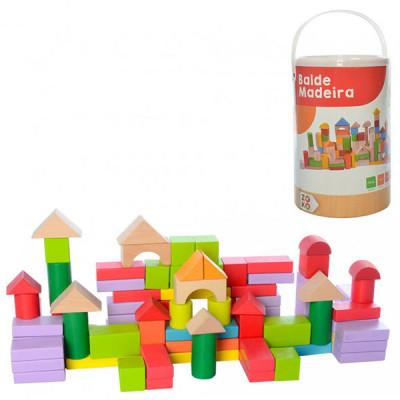 Деревянная игрушка Конструктор городки