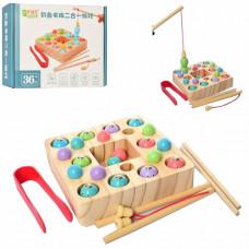 Деревянная игрушка Рыбалка (MD 2214)