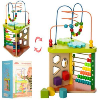 Деревянная развивающая игрушка для малышей (MD 1258)