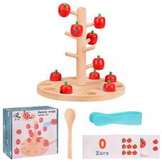 Деревянная игрушка-сортер Обучающее дерево
