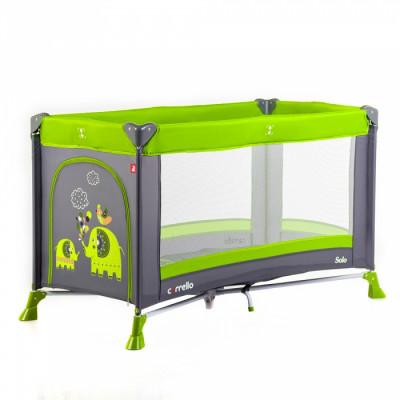 Детский манеж CARRELLO Solo CRL-11701 Lime green