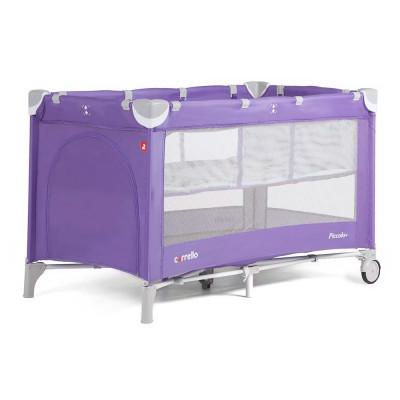 Детский манеж CARRELLO Piccolo+ CRL-9201/1 Spring Purple со вторым дном
