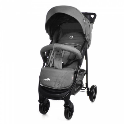 Детская коляска прогулочная BABYCARE Swift BC-11201 Light Grey Лен