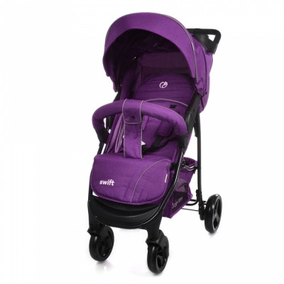 Детская коляска прогулочная BABYCARE Swift BC-11201 Purple Лен