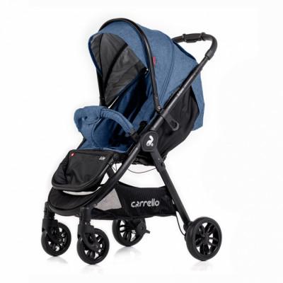 Детская коляска прогулочная CARRELLO Eclipse CRL-12001 Deep Blue Лен