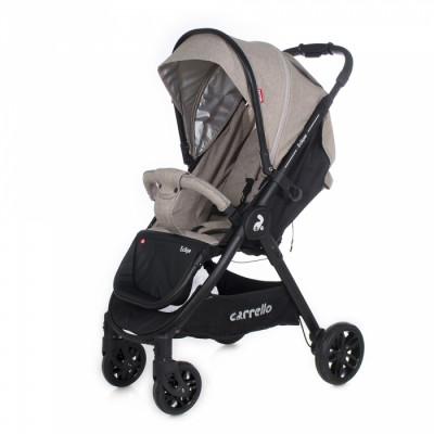 Детская коляска прогулочная CARRELLO Eclipse CRL-12001 Safari Beige Лен