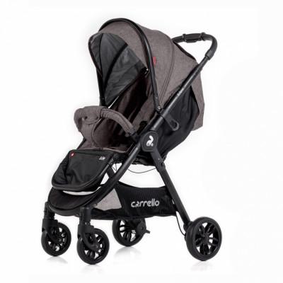 Детская коляска прогулочная CARRELLO Eclipse CRL-12001 Shale Grey Лен