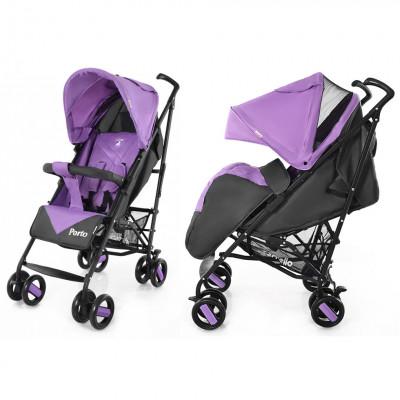 Коляска прогулочная Carrello Porto (CRL-1411 Purple)
