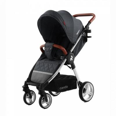 Детская коляска прогулочная CARRELLO Milano CRL-5501 Solid Grey