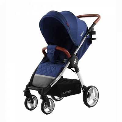 Детская коляска прогулочная CARRELLO Milano CRL-5501 Velvet Blue