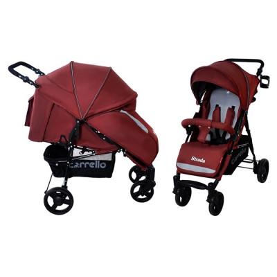 Коляска прогулочная Carrello Strada (CRL-7305 Dark red)