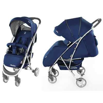Коляска прогулочная Carrello Perfetto CRL-8503 Blue без/Royal Blue