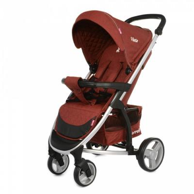 Детская коляска прогулочная CARRELLO Vista CRL-8505 Deep Red