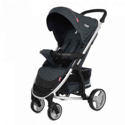 Детская коляска прогулочная CARRELLO Vista CRL-8505 Frost Gray