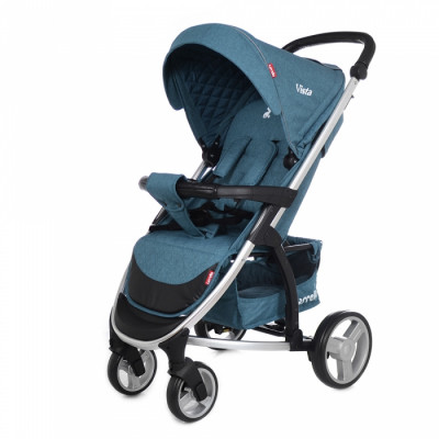 Детская коляска прогулочная CARRELLO Vista CRL-8505 Water Blue