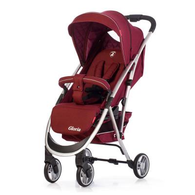 Детская коляска прогулочная CARRELLO Gloria CRL-8506 Rose Red Лен