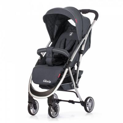 Детская коляска прогулочная CARRELLO Gloria CRL-8506 Storm Gray Лен