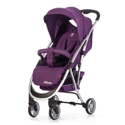 Детская коляска прогулочная CARRELLO Gloria CRL-8506 Ultra Violet Лен