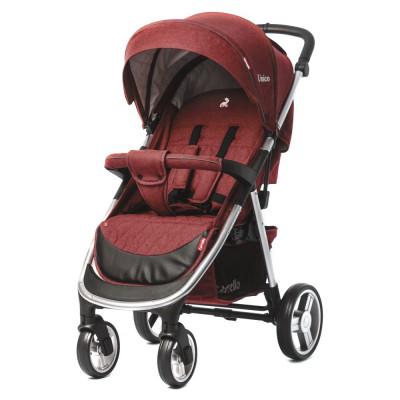 Детская коляска прогулочная CARRELLO Unico CRL-8507 Deep Red