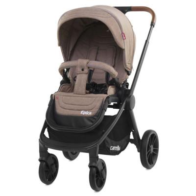 Детская коляска прогулочная CARRELLO Epica CRL-8509 Castle Beige