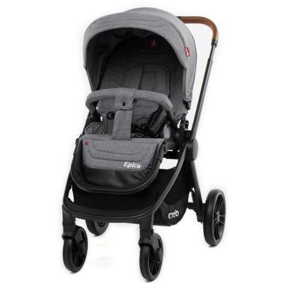 Детская коляска прогулочная CARRELLO Epica CRL-8509 Ginger Grey