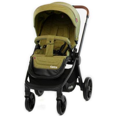 Детская коляска прогулочная CARRELLO Epica CRL-8509 Olive Green