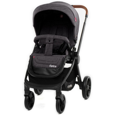 Детская коляска прогулочная CARRELLO Epica CRL-8509 Slate Grey
