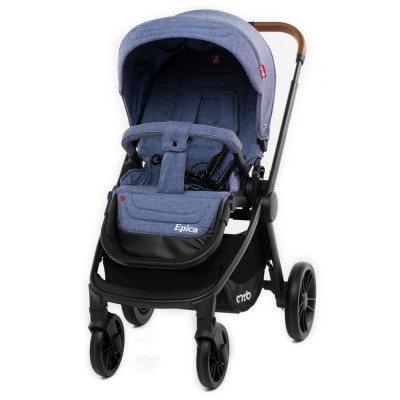 Детская коляска прогулочная CARRELLO Epica CRL-8509 Vista Blue