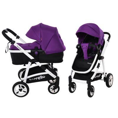 Детская универсальная коляска 2в1 CARRELLO Fortuna CRL-9001 Purple