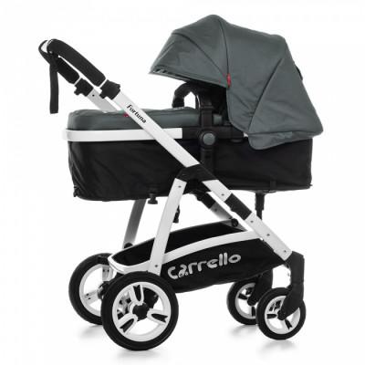 Детская универсальная коляска 2в1 CARRELLO Fortuna CRL-9001 Shade Grey с матрасом