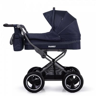 Детская коляска прогулочная TILLY Family T-181 Blue