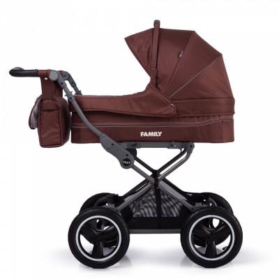 Детская коляска прогулочная TILLY Family T-181 Brown