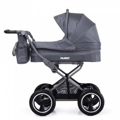 Детская коляска прогулочная TILLY Family T-181 Grey