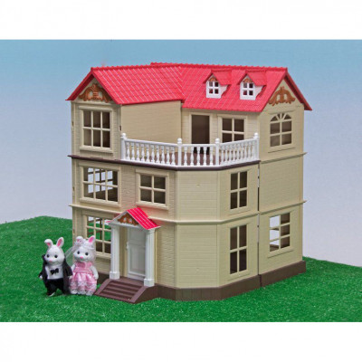 Загородный домик для Зайчиков Happy Family, аналог Sylvanian Families (012-10)