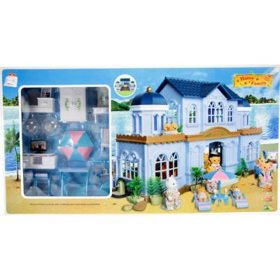 Домик Happy Family с мебелью, аналог Sylvanian Families (012-11)