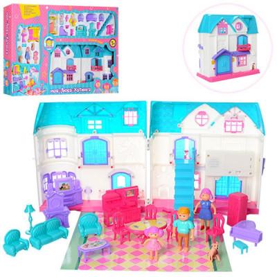 Кукольный домик мебель, звук, свет (1205 AB)