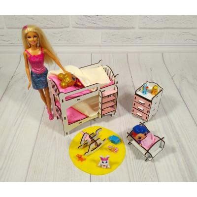 """Комплект игровой мебели """"Детская"""" для кукол (3114)"""