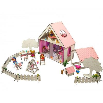 Кукольный домик для Lol Fana Little Fun - с двориком